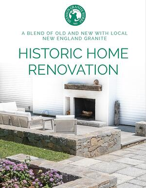 SGW Historic Home Renvovation - A Blend of Old and New with Local New England Granite COVER