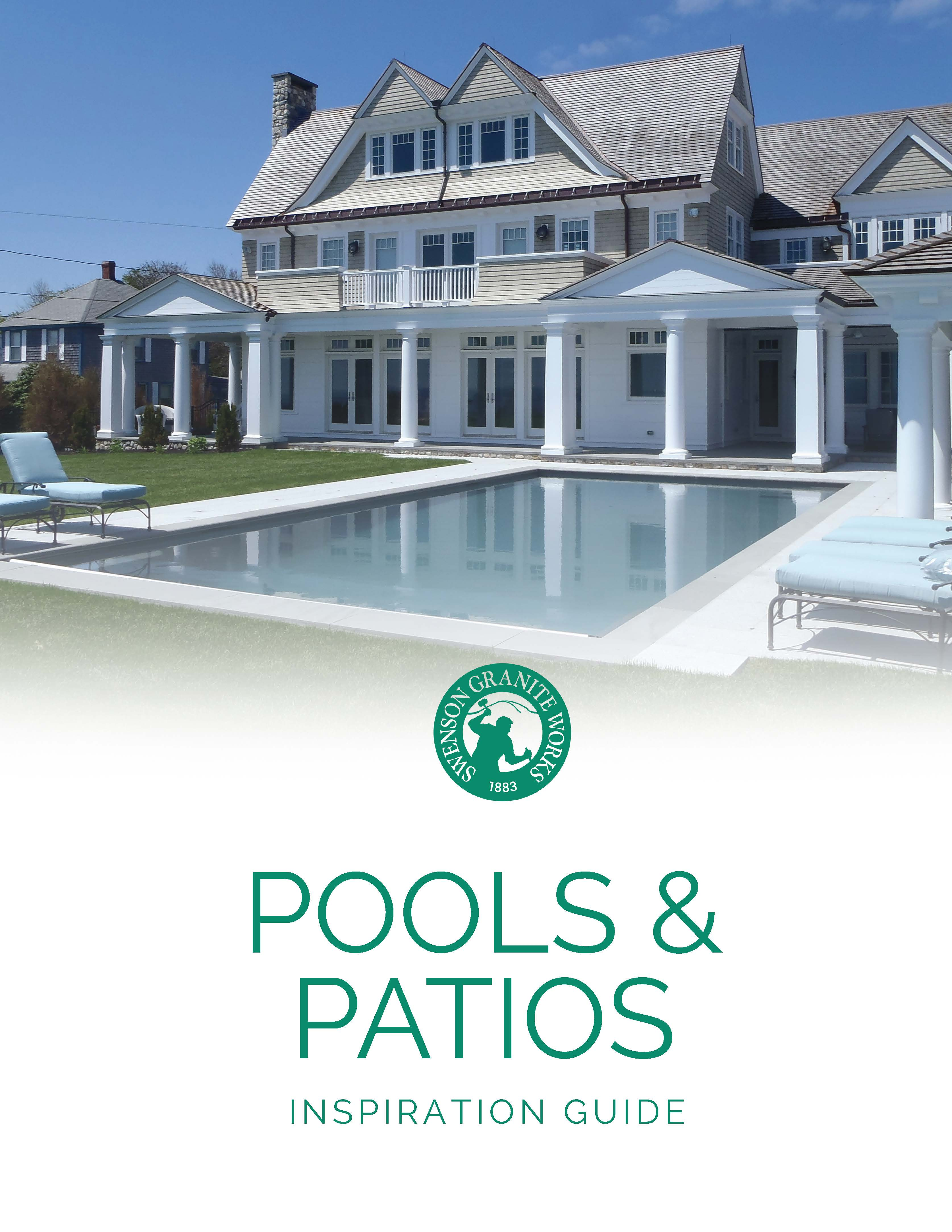 SGW Pools and Patios Inspiration Guide COVER