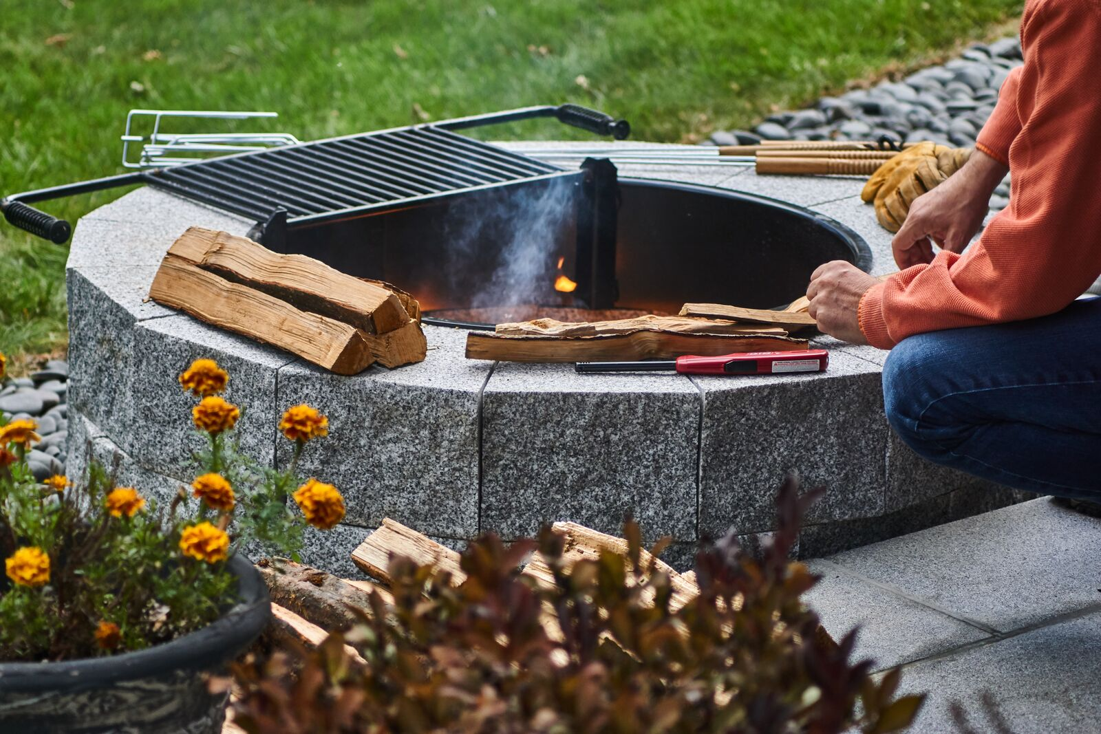 South Hadley Open House Diy Fire Pit Kit Giveaway